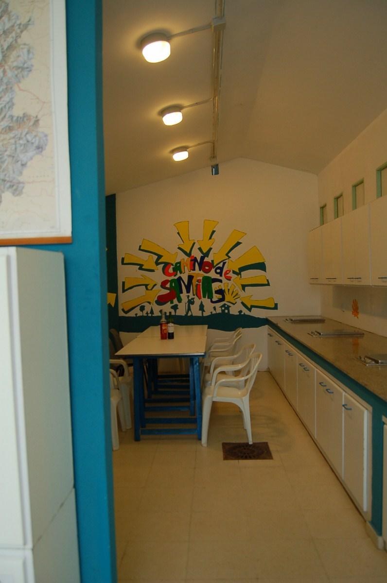 Monte do Gozo kuchnia pielgrzymów