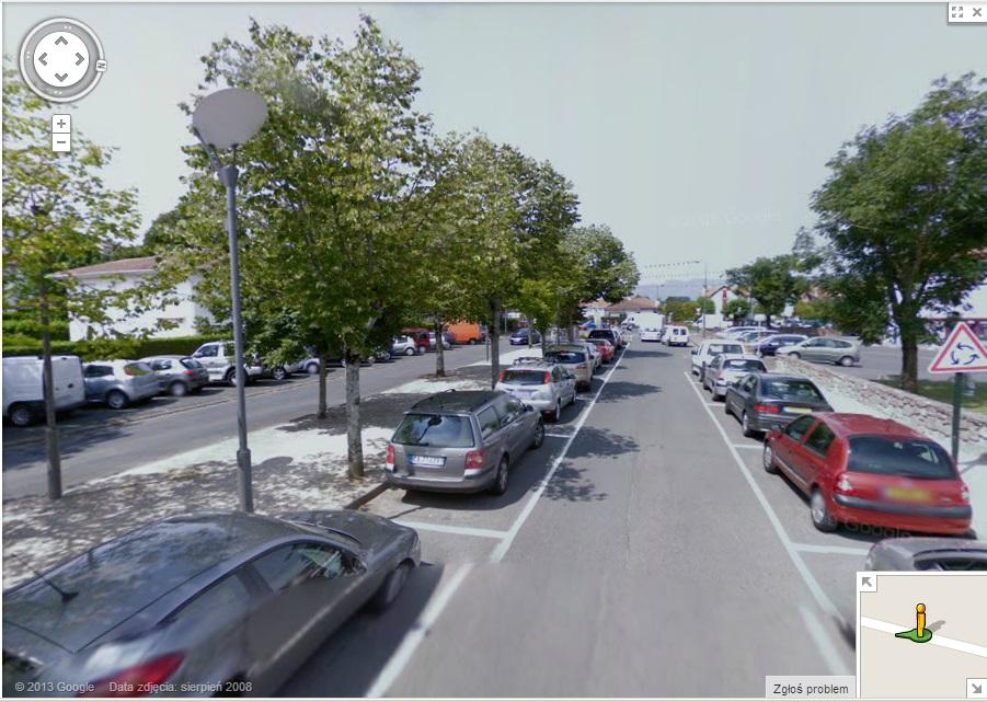 Hala sportowa Saint Jean Pied de Port parking