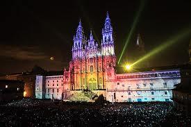 Fuegos del Apostol w Santiago de Compostela