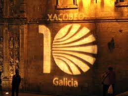 Camino de Santiago w Galicji- krótki przewodnik po angielsku i hiszpańsku.