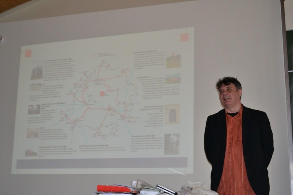 Grzegorz Bednarek i camino na ziemi łódzkiej