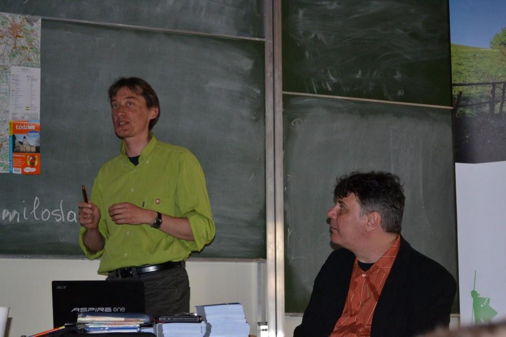 Emil Mendyk i Grzegorz Bednarek