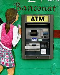 bankomat w hiszpanii