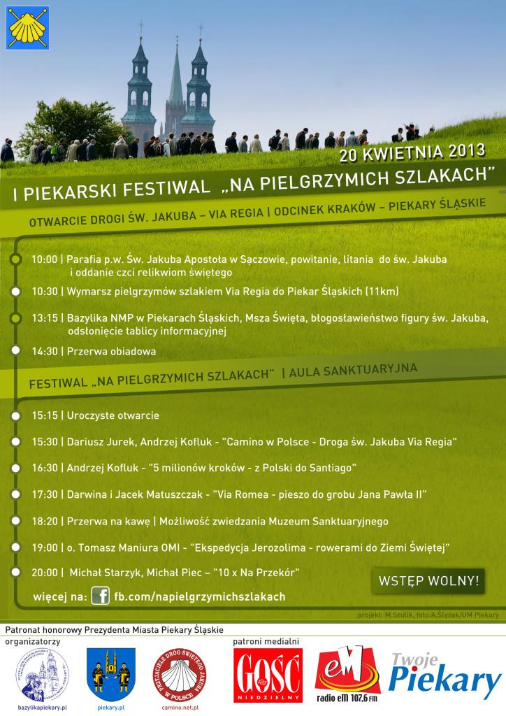 Na Pielgrzymich Szlakach- festiwal Piekary Śląskie