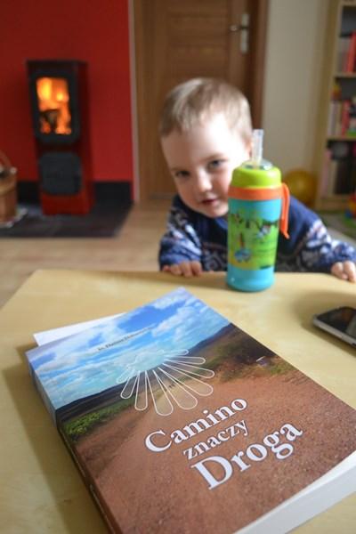 Piotruś i książka Camino znaczy droga