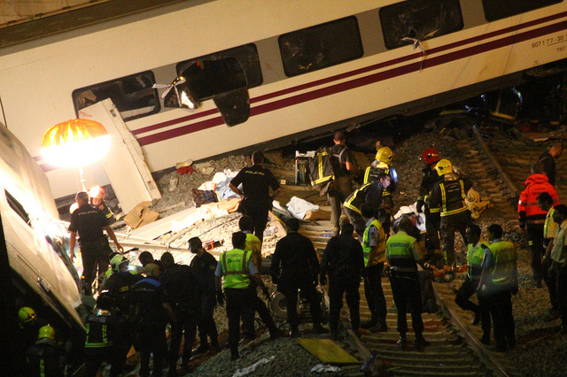 wypadek kolejowy w santiago de compostela