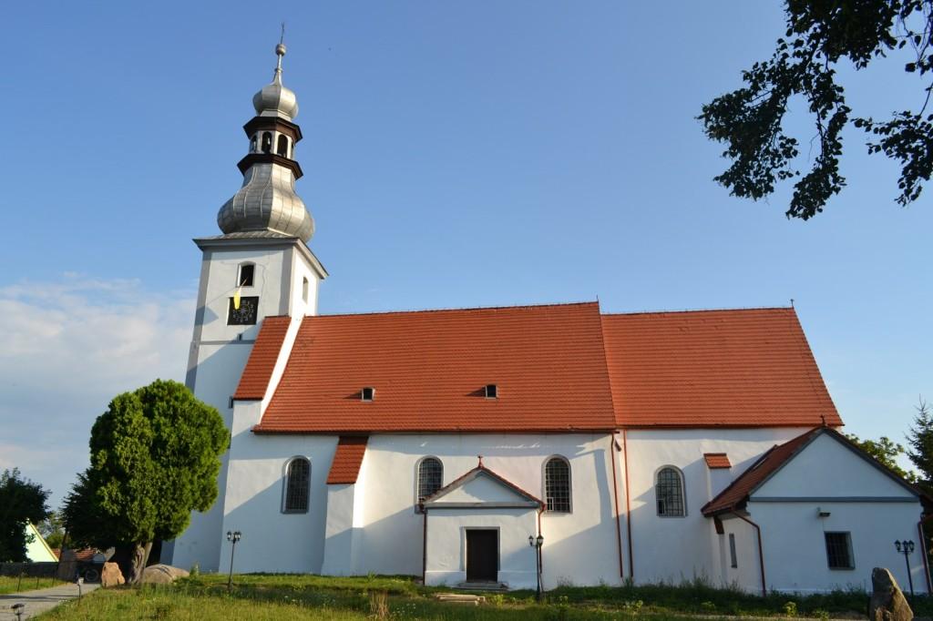 Parafia Brożec kościół parafialny św. Jakuba