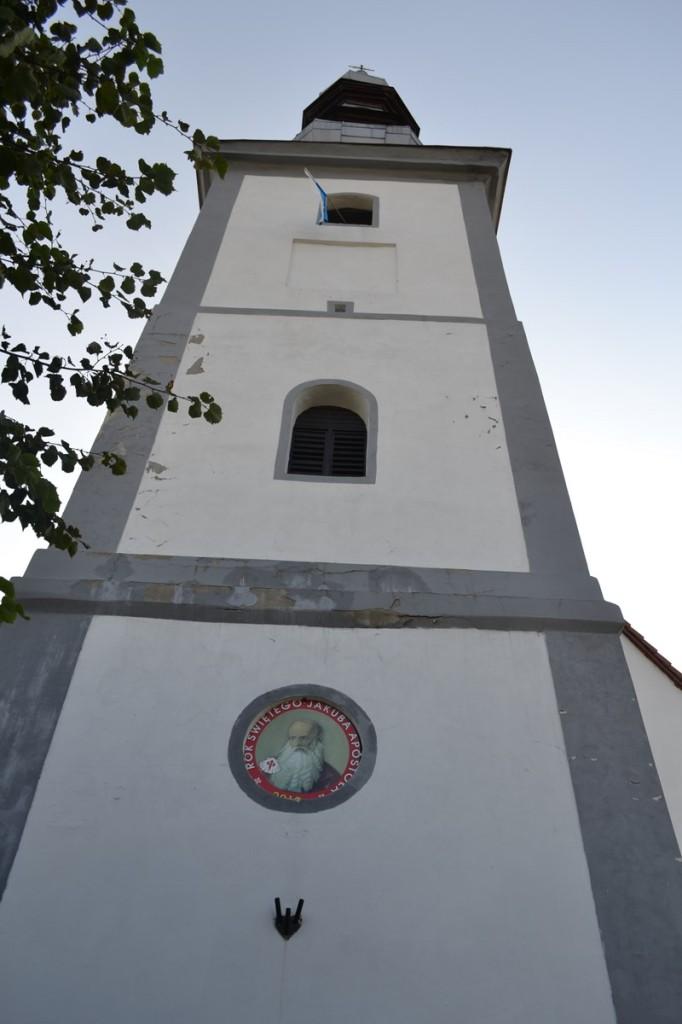 parafia brożec wieża kościoła