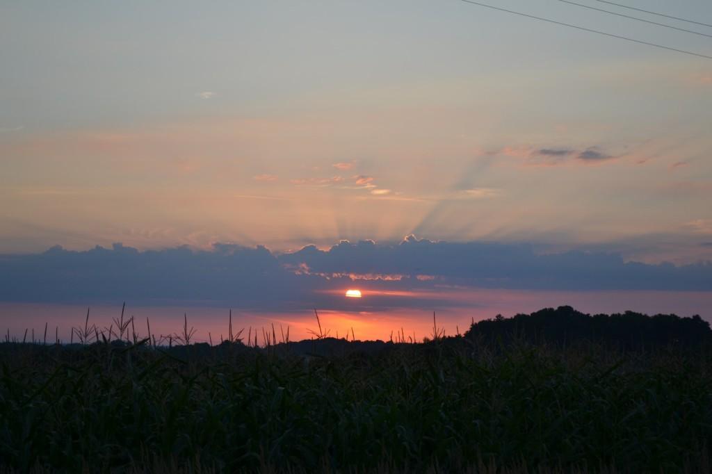 wschód słońca nad sobótką (Kopiowanie)