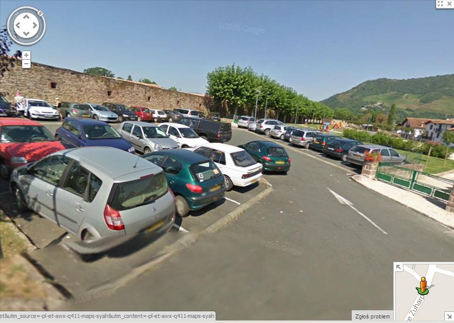 parking Saint Jean pied de port camino de santiago