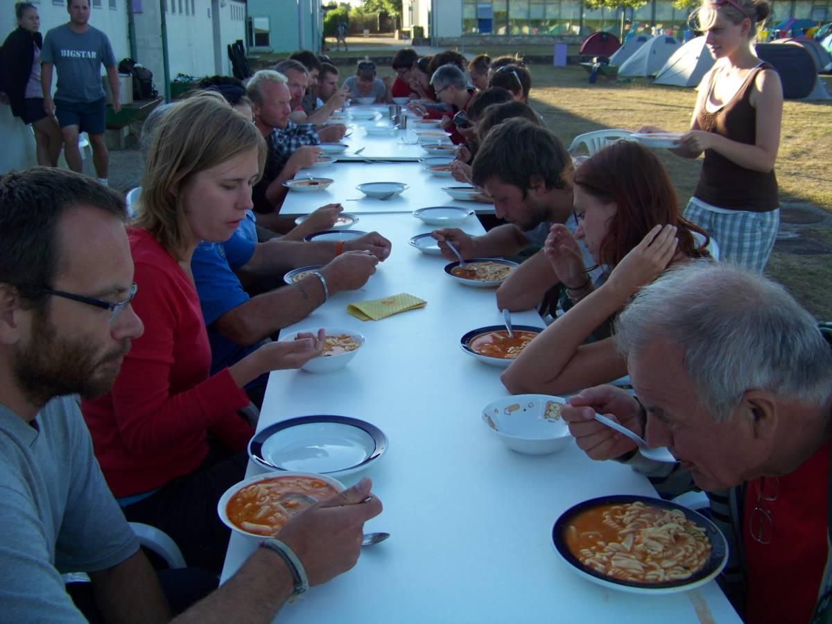 Wolontariat na Camino w Hiszpanii w 2014 (Monte do Gozo)