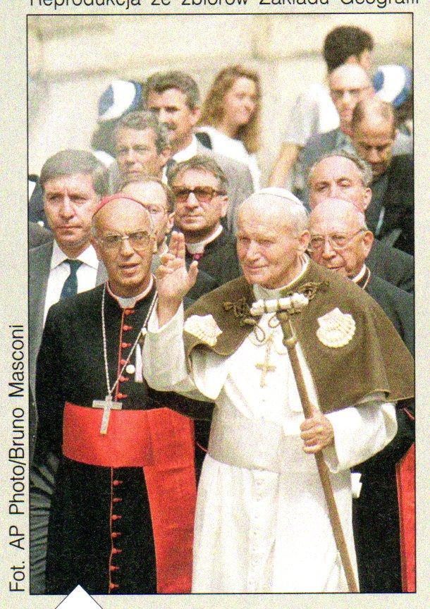 Z Santiago kieruję do ciebie, stara Europo, wołanie pełne miłości (Święty Jan Paweł II)
