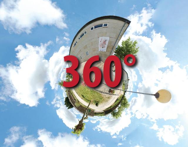 Wirtualna wycieczka po albergue na Monte do Gozo 360