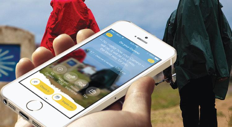 Aplikacja eCamino. Camino de Santiago ze smartfonem.