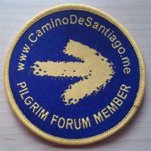 Naszywka Camino de Santiago forum member