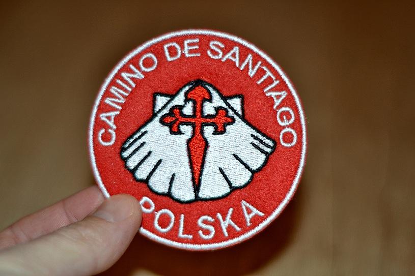 Naszywka Camino de Santiago zdjęcie