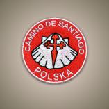 Naszywka Camino de Santiago