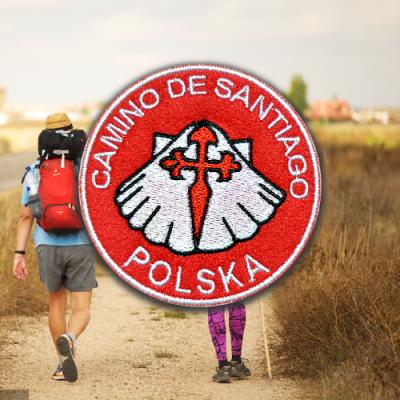 Naszywka Camino de Santiago Polska