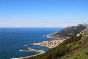 Pontevedra, wybrzeże