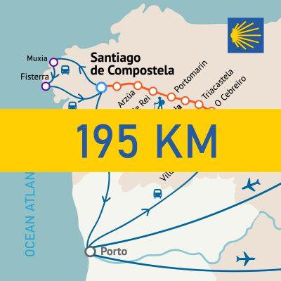 Camino Frances 195km