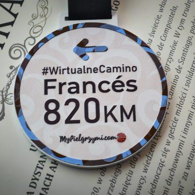 Wirtualne Camino Frances 820km