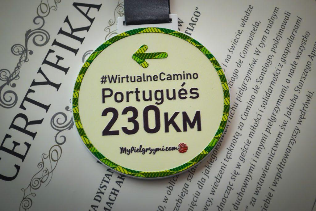 Wirtualne Camino Portugues z Porto 230km