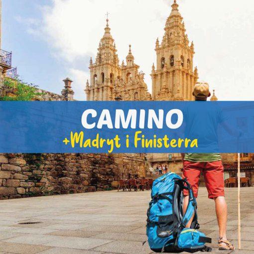 Camino plus Madryt i Finisterra